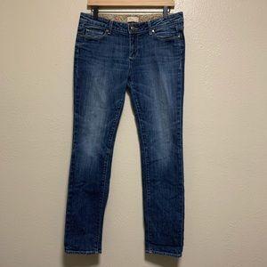 Paige women's medium wash jimmy jimmy skinny jeans
